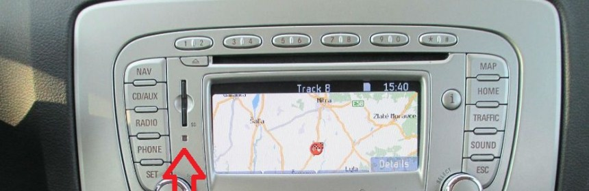 Ford FX Navigation SD Card Map Europe