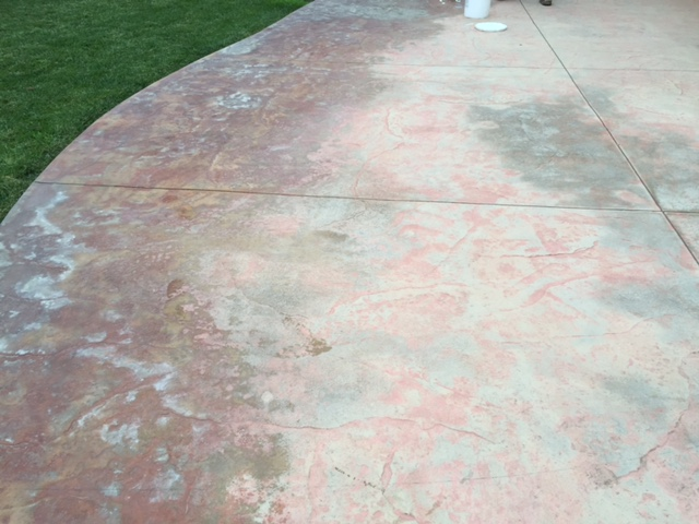 How To Restore A Stamped Concrete Patio Newlook