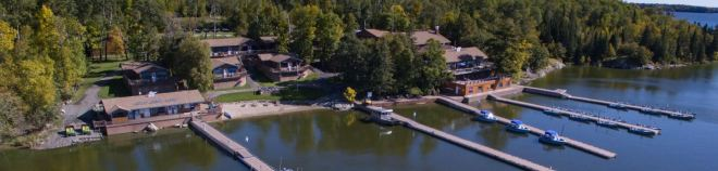 Wiley Point Lodge! Situated right in the heart of Lake of the Woods