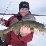 Ice Fishing for Walleye in Ontario