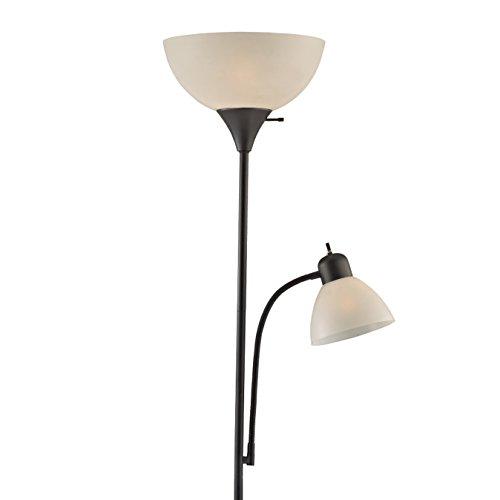 Light Accents 150 Watt Floor Lamp With Side Reading Light   Floor Lamps   Dorm  Room Part 93