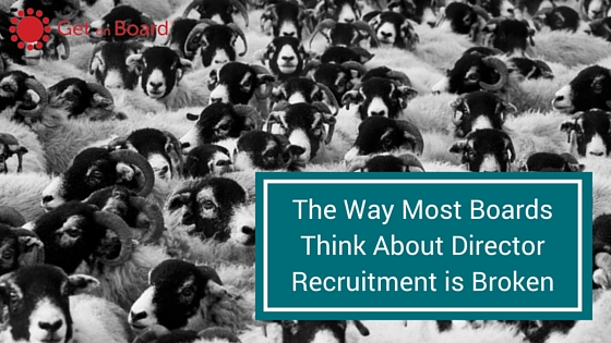Director recruitment considerations for the modern world