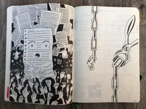 Random drawings from my notebook.