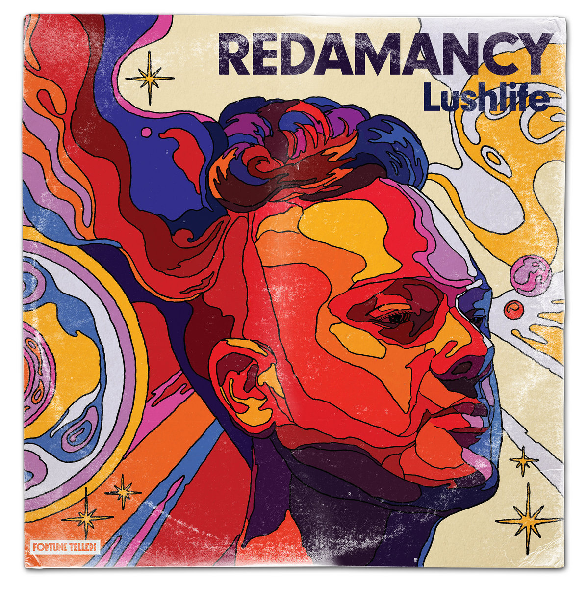 Album cover for Lushlife Redamancy.