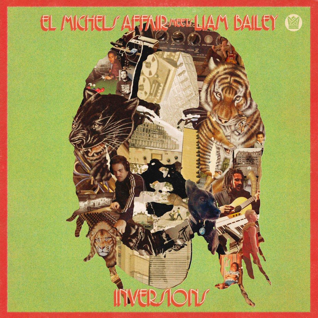 El Michels Affair meets Liam Bailey album cover.
