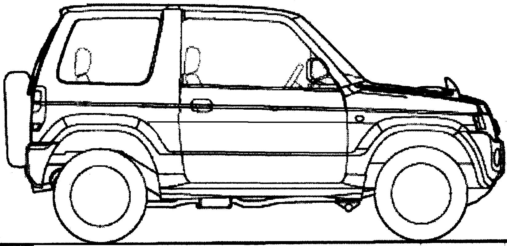 Nissan Kix Suv Blueprints Free