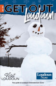 Front Cover of Get Out Loudoun January 2020