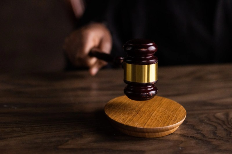 court gavel, judgment