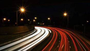 highway cars lights