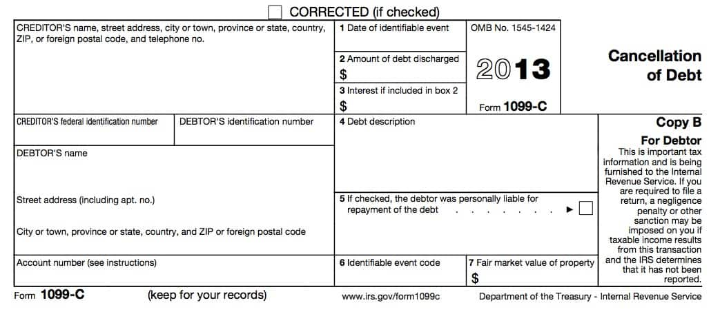 Printables Irs Form 982 Insolvency Worksheet irs form 982 is your friend if you got a 1099 c they miss the point are exceptions and exclusions such as bankruptcy insolvency