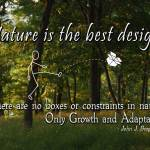 Nature is the best designer image