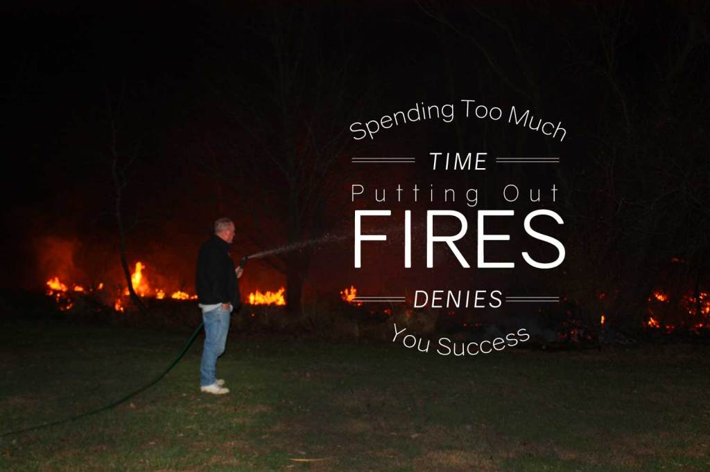 PUtting out fires image