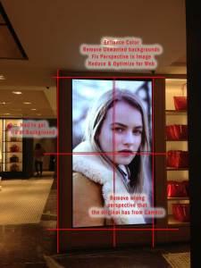 Image showing photoshopping
