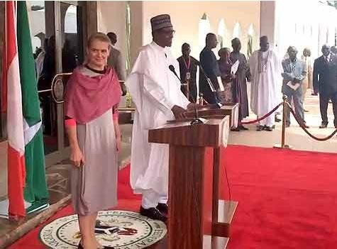 President Buhari receivesthe Governor General Of Canada, Julie Payette (Photos)