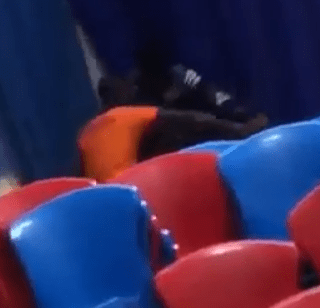 Viral video of Freshman at the Afe Babalola Univeristy fighting with his lecturer who tried to seize his phone during class