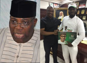 ''He is just trying to get back at me'' Doyin Okupe reacts after his angry son joins President Buhari's campaign organization