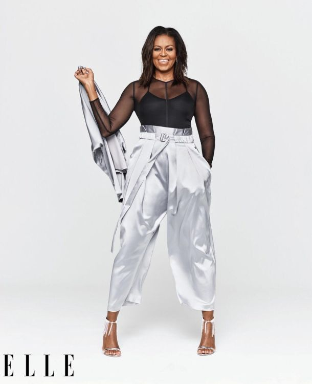 Michelle Obama Stuns In ELLE Magazine! Get Her Chic Look For Less