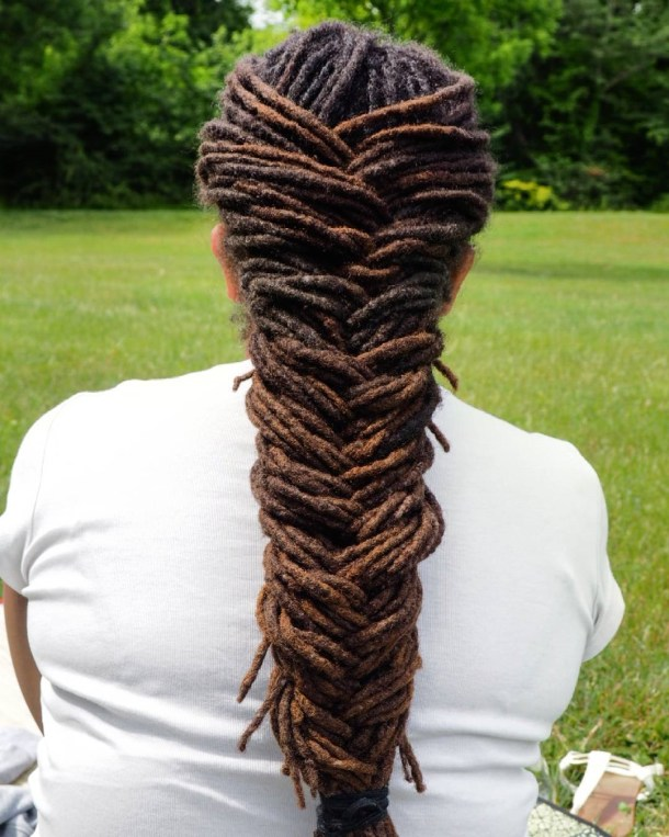 style your locs