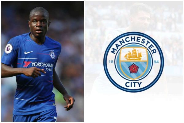 Man City move to sign Kante as Fernandinho replacement lailasnews