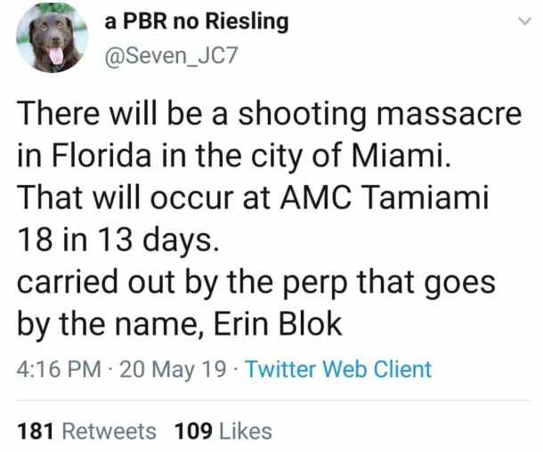 Erin Blok Miami breaking news alert