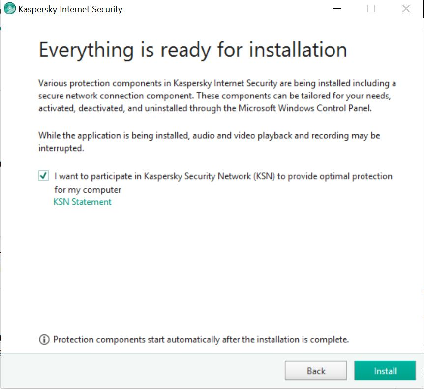 kaspersky internet security 2017 download