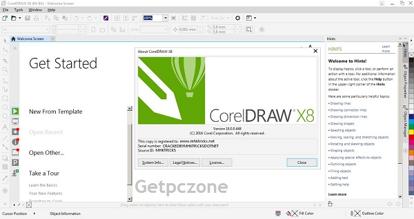 CorelDRAW Graphics Suite X8 Overview