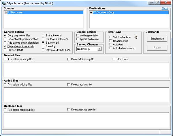 DSynchronize 2.40.100 Download 32-64Bit