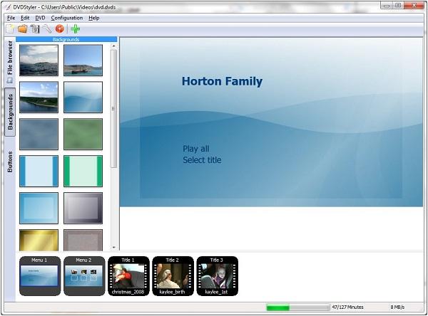 DVDStyler Download 32-64Bit