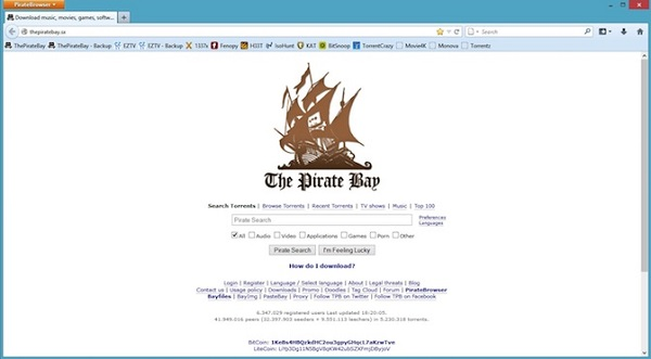 Pirate Browser Download 32-64Bit