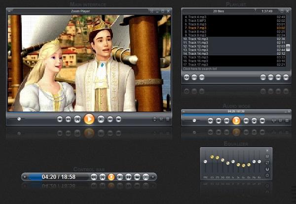 Zoom Player Free Download 32-64Bit