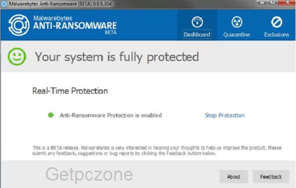 Malwarebytes Anti-Ransomware Download free
