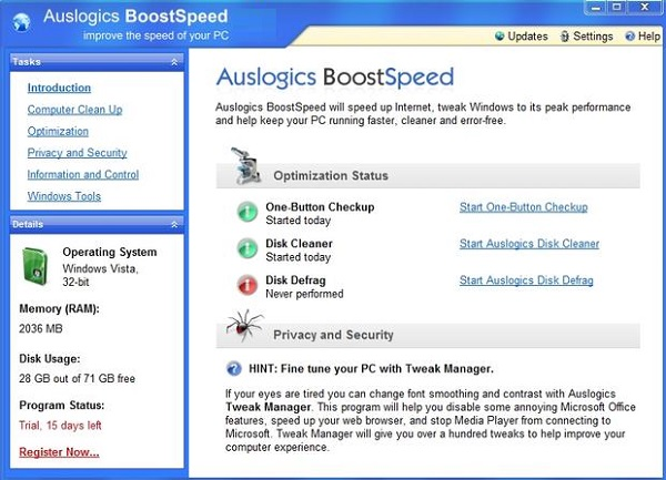 Auslogics BoostSpeed 11.0 Download