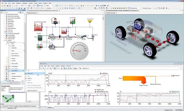 Download ESI SimulationX Pro 4 Free