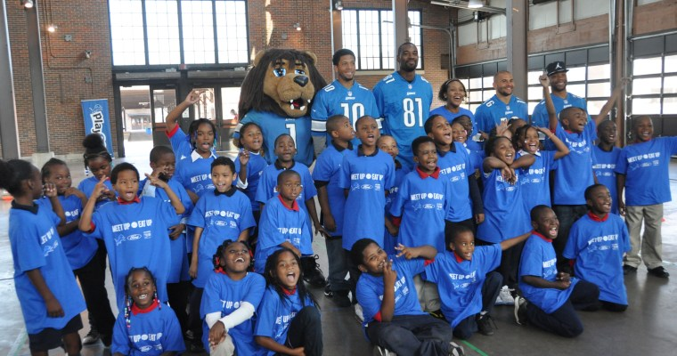 Meet Up & Eat Up With the Lions and Ford Kickoff @ Detroit Eastern Market