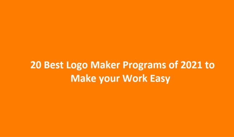 Best Logo Maker programs