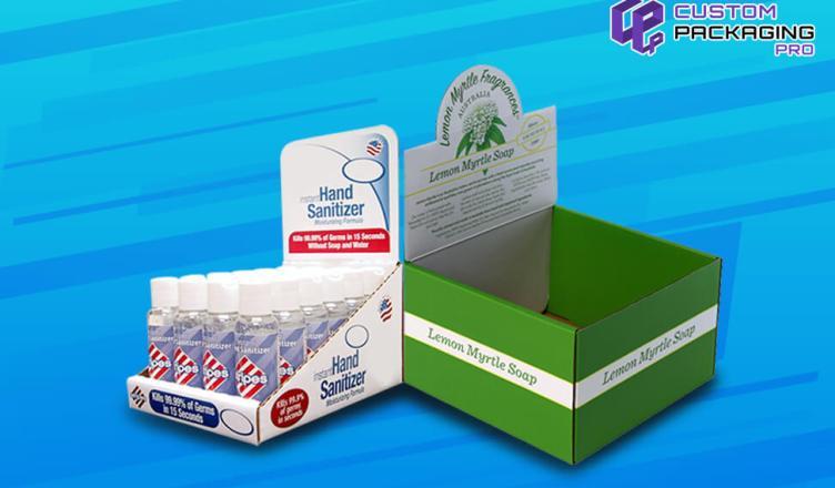 Custom Printed Display Boxes Wholesale