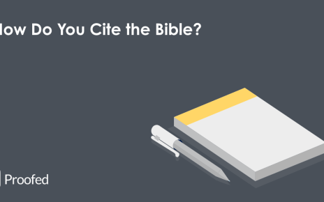 How to Cite Religious Texts in Academic Writing | Proofed's Writing Tips
