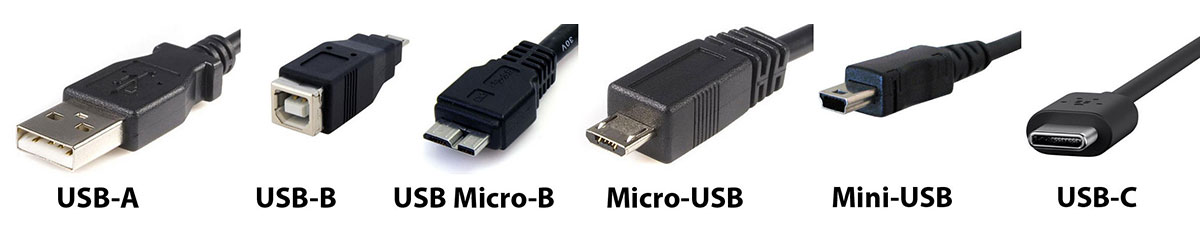 ubs c and usb b