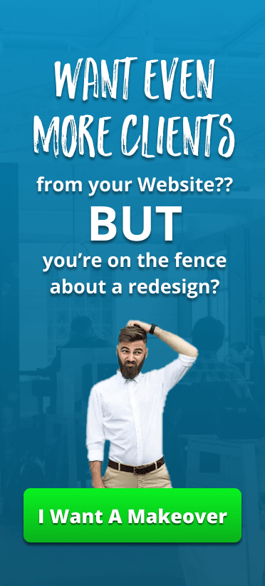 On the fence about getting your website redesigned? We can help with our Ultimate Website Makeover