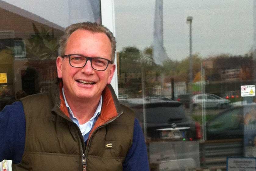Jörg Betke ist der Inhaber des Getränkemarkts in Horn Bad Meinberg