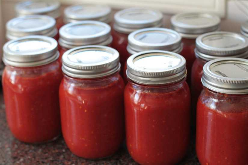Passata from tomato with various benefits of calories in it that really good for your health