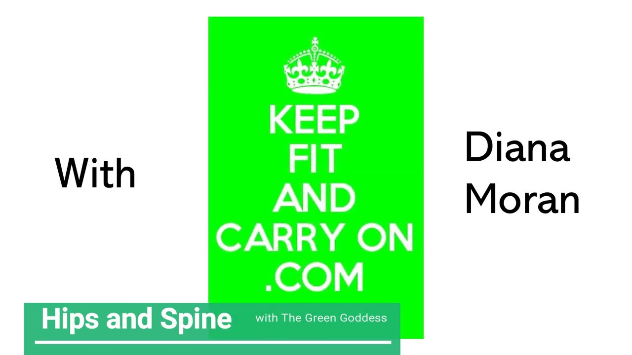 Hips and Spine exercises with Diana Moran