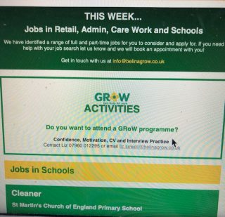 GRoW Jobs Bulletin – 5 April 2019