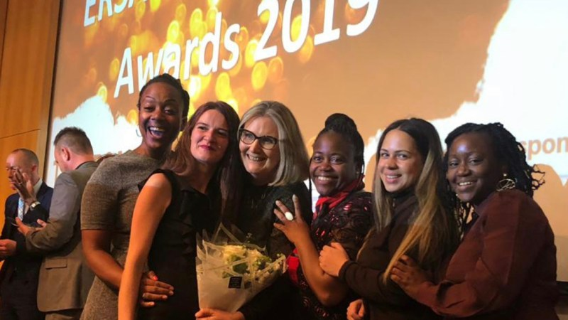 Belina Get Ready for Work Programme Recognised  at the 2019 ERSA National Employability Awards
