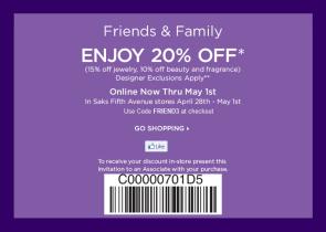 saks-friends-family-sale