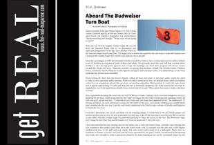 Budweiser Turn Boat