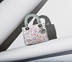Mousseline micro Lady Dior handbag $3,500
