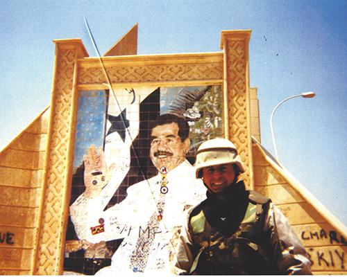 John Saputo In Iraq