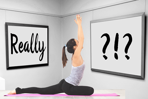 Kim Burns Yoga Photo