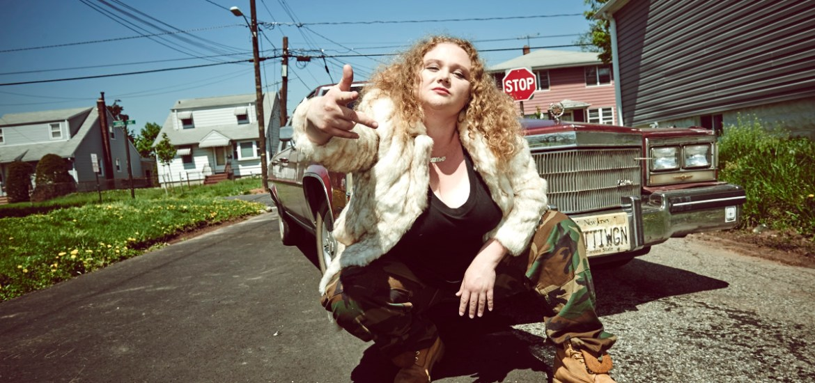 Danielle Macdonald in the film PATTI CAKE$. Photo by Andrew Boyle. © 2017 Twentieth Century Fox Film Corporation All Rights Reserved